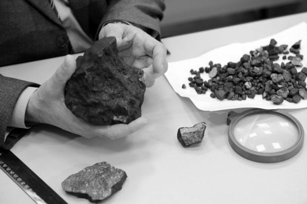 Экспорт кусков Челябинского метеора из РФ под запретом
