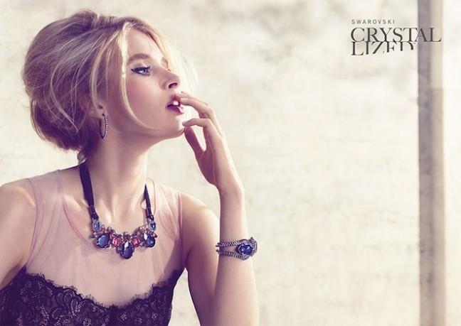 Весенняя маркетинговая кампания Swarovski Crystallized (фото)