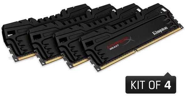 Память DDR3 серий HyperX Beast и HyperX white