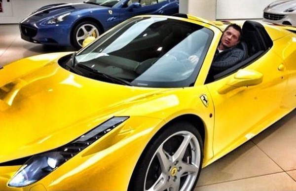 Муж Санты Димопулос приобрел шикарное авто (фото)
