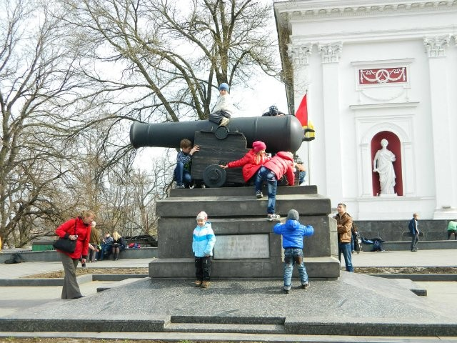 Одесская Юморина предлагала незаконные развлечения (ФОТО)