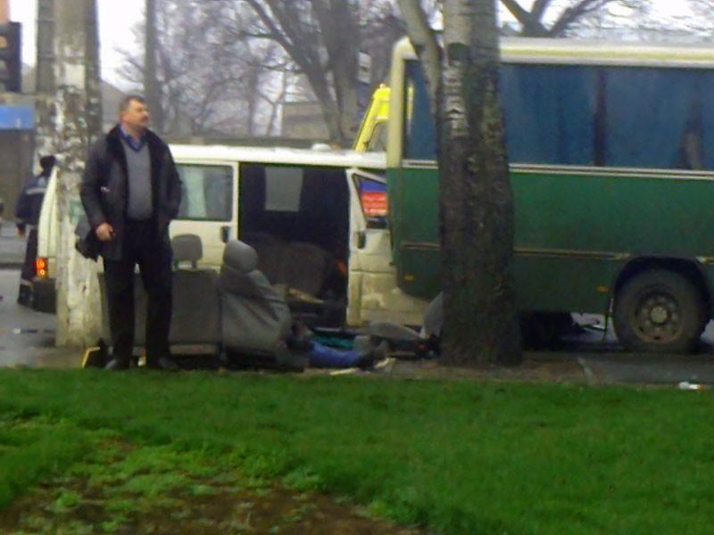 В Одессе случилось «двойное» ДТП: есть жертвы (ФОТО)