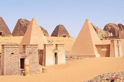 Археологи нашли в Судане 35 пирамид