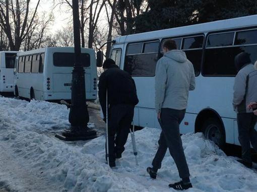 Репортаж с митинга оппозиции в Киеве