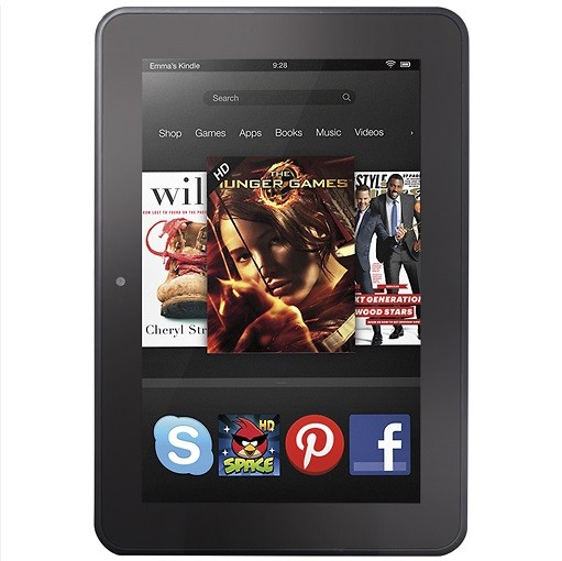 В Соединенных Штатах выходит планшетник Amazon Kindle Fire HD 8.9