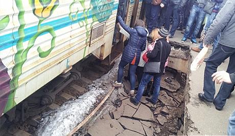 Начато дело по обрушению перрона на установки «Вышгородская»