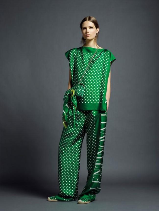 Зеленовато-серый лукбук от Valentino (фото)