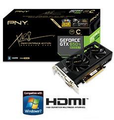 Организация PNY продемонстрировала 2 модификации GTX 650 Ti Boost XLR8