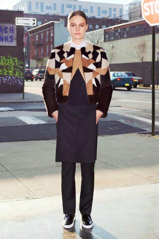 Лукбук коллекции Givenchy pre-fall 2013 (фото)