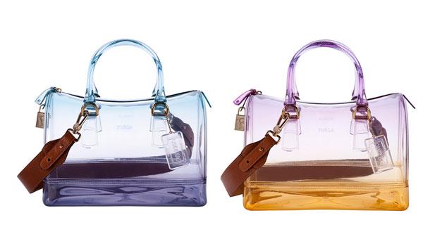 Бесцветная коллекция сумок от Furla Candy
