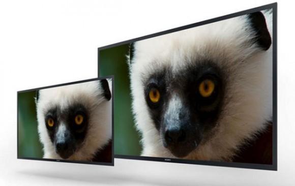Сони продемонстрировала макеты 4K OLED-мониторов