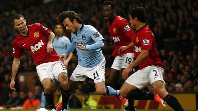 Серхио Агуэро стал как раз тем кто одолел «Юнайтед»