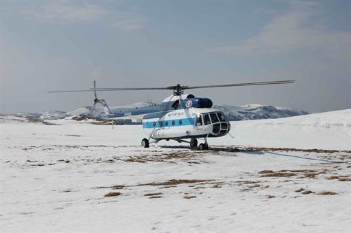 В Крыму проверяют вертолет с эксклюзивным мотором