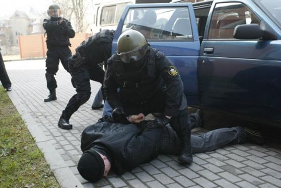 Отечественного преступного престижа притормозили в Киеве