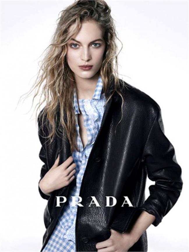 Первые кадры лукбука Prada pre-fall 2013