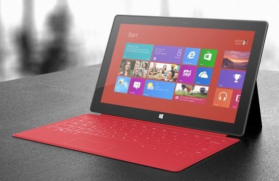 В середине года Майкрософт представит планшетник Surface