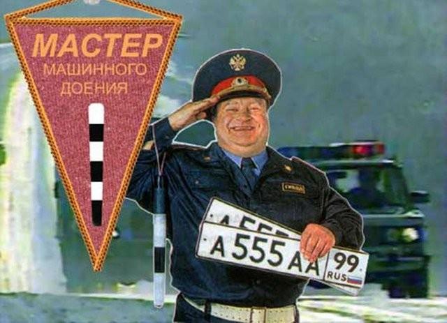 Донбасский инспектор ДПС пренебречь в пешехода (ВИДЕО)