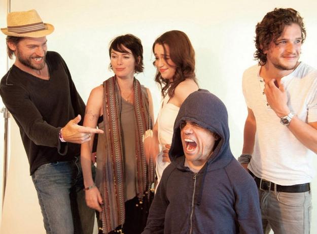 ФОТО: Артисты из Игр Престолов в стандартной жизни