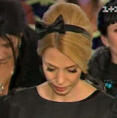О. Янукович продемонстрировала в Донецке собственный свежий стиль