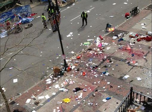 В Бостоне прогремели взрывы, есть потерпевшие