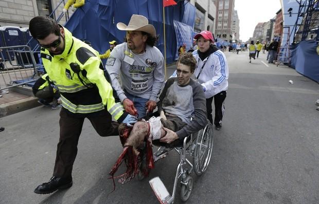 Взрывы в Бостоне: Свидетели поделились ощущениями