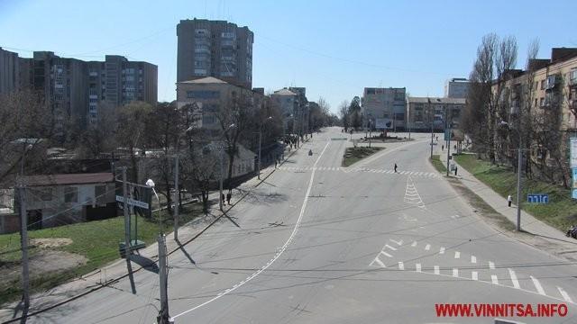 Вице-президент посетил Винницу: центр закрыт