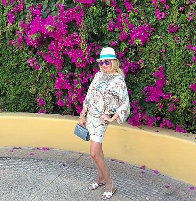 Яна Рудковская направилась с супругом на отдых в Мексику (фото)