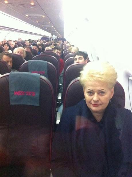 Вице-президент Литвы не опасается парить лоу-костами