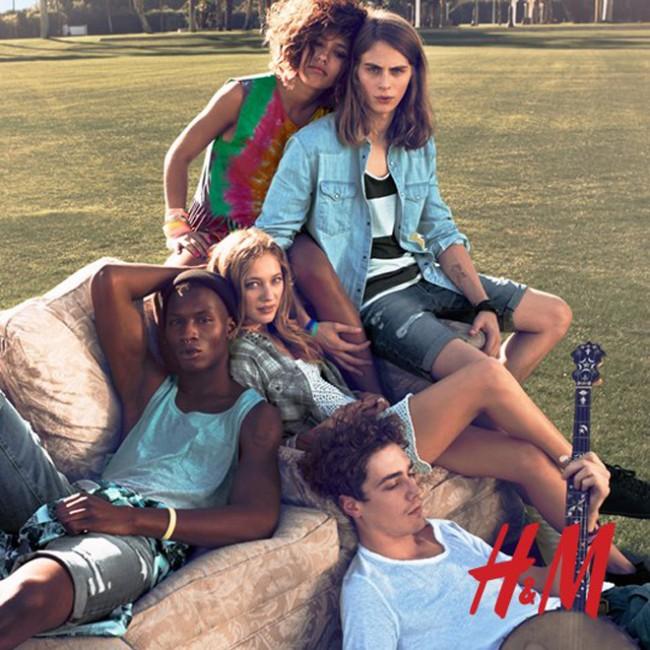 Фестивальная коллекция «H&М Loves Music» (фото)