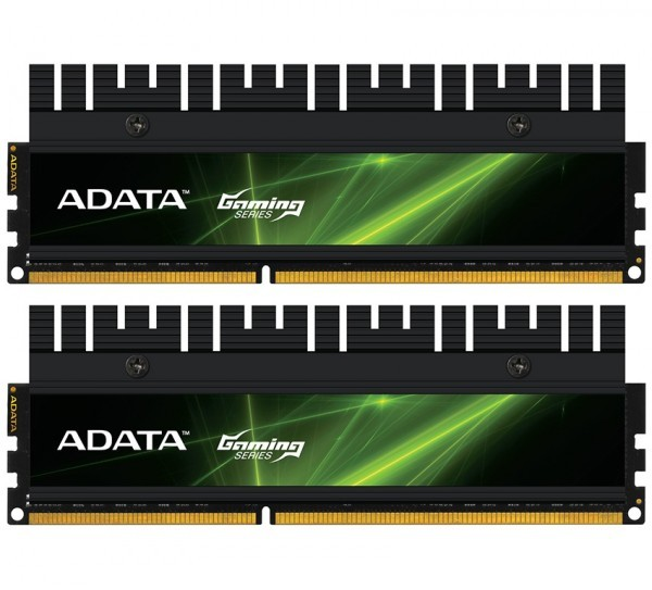 Adata рекламирует геймерские 8-гигабайтные модули памяти