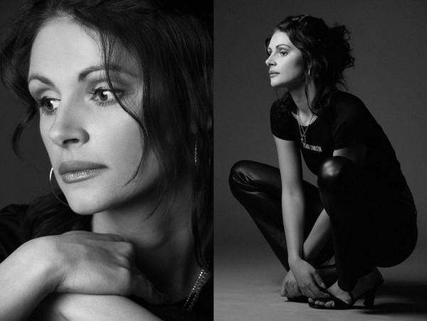 В Запорожье проживает двойник актрисы Джулии Робертс (фото)