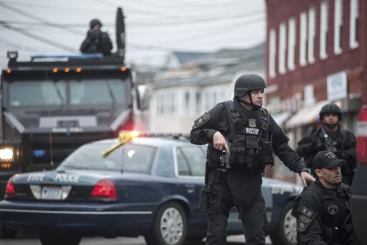 В жилище бостонского террориста случились взрывы