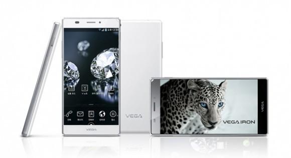 Pantech продемонстрировала телефон Vega Iron,