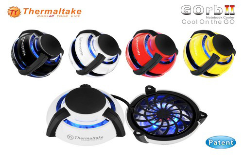 Миниатюрный вентилятор Thermaltake GOrb II для компьютеров