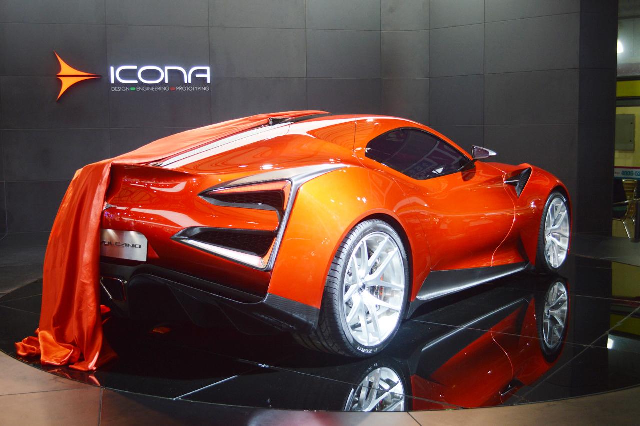 Супер-кар Icona Vulcano был показан в Шанхае