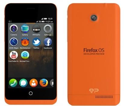 Первая партия телефонов на базе Firefox разошлась