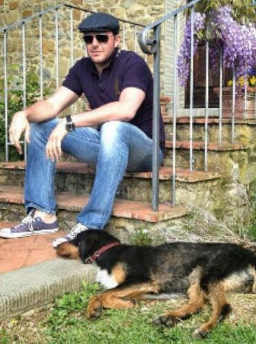 Ксюша Собчак и Максим Виторган отдыхают в Италии (фото)