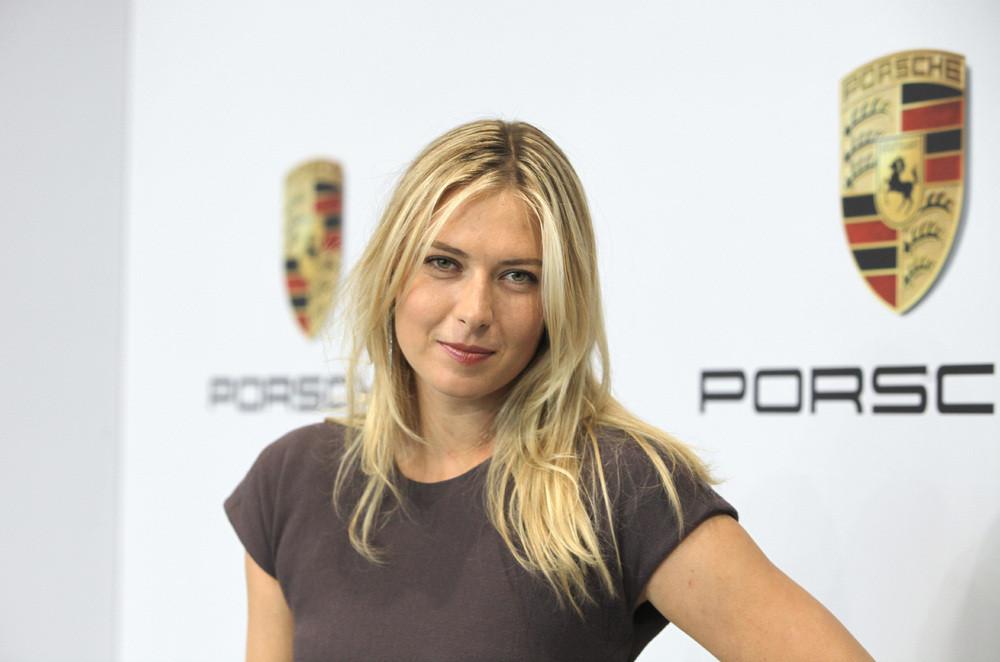 Маша Шарапова стала формальным послом брэнда Порше