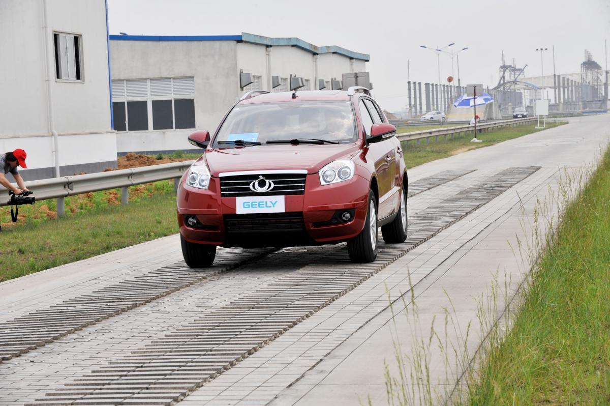 На Украине начнут соберать внедорожник Джили GX7