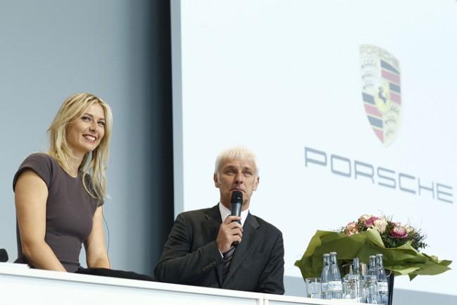 Маша Шарапова стала первым послом Порше (фото)