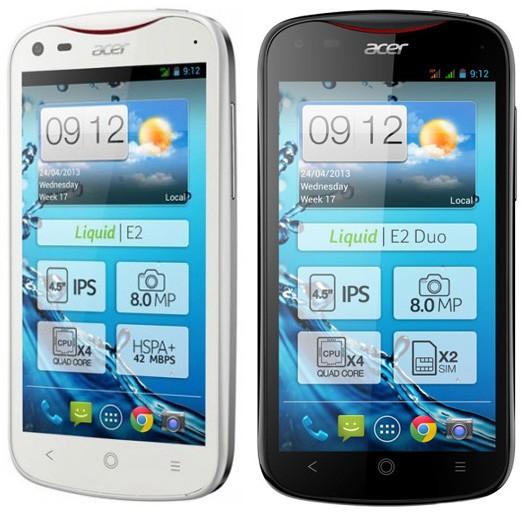 Acer Liquid E2: премьера нового телефона
