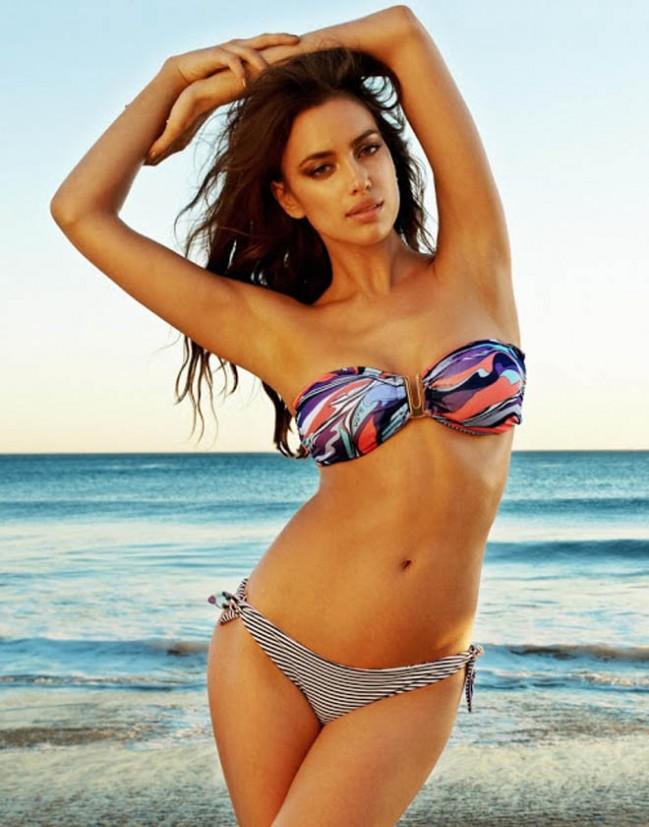 Елена Танец в рекламе купальных костюмов Beach Bunny (фото)