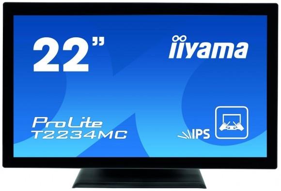Предохраненный жидкокристаллический дисплей iiyama T2234MC с IPS-матрицей