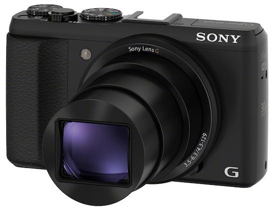 Сони Cyber-shot DSC-HX50V: камера с 30-кратным зумом