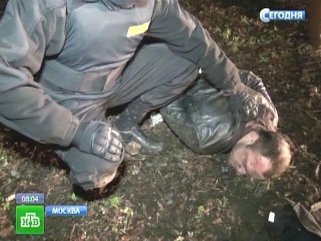 В городе Москва обезоружили шайку кавказцев