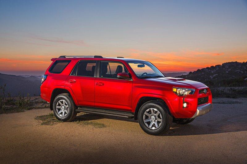 Тойота продемонстрировала собственный свежий 4Runner: ФОТО