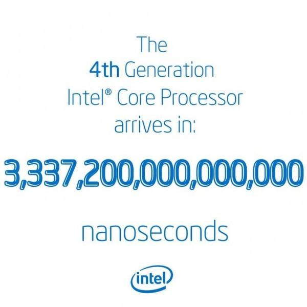 Микропроцессоры Intel Haswell покажут 3 июля