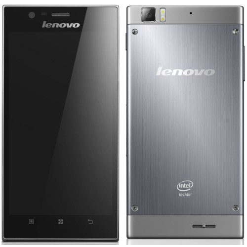 Телефон Lenovo K900 с микропроцессором Intel Clover Trail+