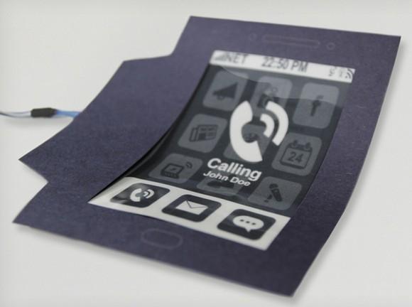 Образец MorePhone способен выгибаться при звонке