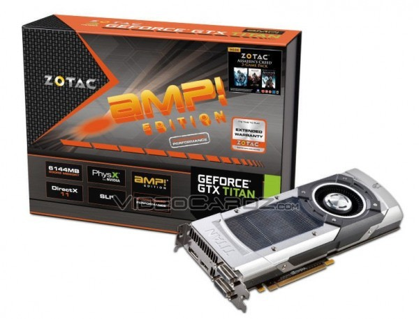 Организация Zotac дополнила GTX Титан модификацией AMP! Edition